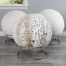 Yoga Ball Desk Chair Benefits by Add A Unique Accent To Your Home While Providing Support With