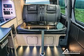 This Fantastic Deep Black VW Campervan With Leather Was Made By Autohaus Campervans In Somerset SouthWest UK