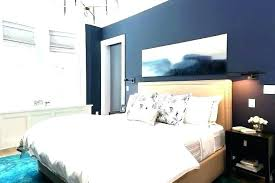 Blue Accent Wall Bedroom Dark Walls Navy With Feature Living Room Extraordinary Dar
