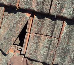 how to repair a cracked roof tile properly