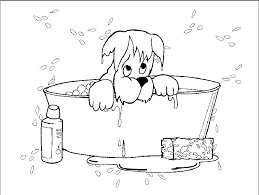 Puppy Coloring Pages Popular 4227 Online Printable Yorkshire Terrier