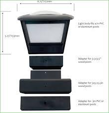 Home Depot Deck Lighting Solar by Lighting Post Cap Solar Lights For Deck Post Cap Solar Lights