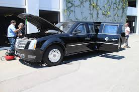 The Presidential Limo Otherwise Known as The Beast