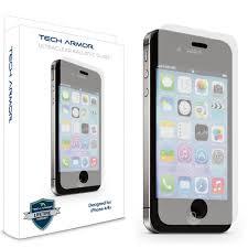 Amazon iPhone 4 Glass Screen Protector Tech Armor Premium