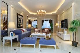 light blue sofa for modern living room 3d house