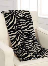 chambre zebre et écomme mon tapis le jeté peluche imprimé zèbre 50x60 pouces