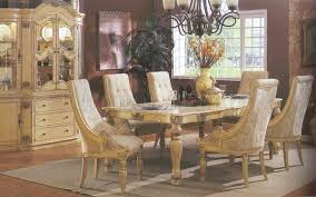 white furniture company antique dining room set halyn formal with