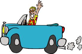 Travel Clipart Car Driving 4