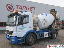 100 Concrete Mixer Truck For Sale Used MercedesBenz Atego 1524 4x2 Euro4 Hymix