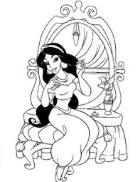 Jasmine Princess Coloring Pages