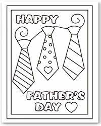 Free Fathers Day Coloring Page FathersDay Dads Coloringpage Freebie