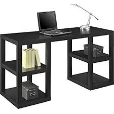 Mainstay Computer Desk Instructions by Amazon Com Mainstays Double Pedestal Parsons Desk Kitchen U0026 Dining