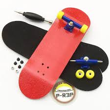 Amazon.com: Peoples Republic Red Complete Wooden Fingerboard W Nuts ...