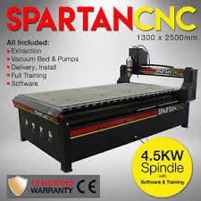 cnc router machine spartan 1325 router 4 5kw 1300mm x 2500mm