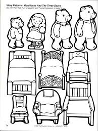 Read Goldilocks And The Three Bears Then Print Out Some Coloring Activities