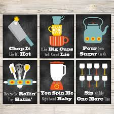 Funny Kitchen Wall Art Decor PRINTABLE Signs INSTANT