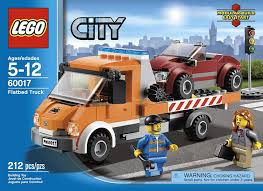 Amazon.com: LEGO City Flatbed Truck 60017: Toys & Games