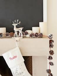 Pine Cone Christmas Tree Tutorial by Diy Holiday Pinecone Garland Hgtv