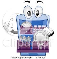 Dishwasher Clip Art