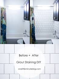 how to paint bathroom tile grout thedancingparent
