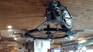 Belt Driven Ceiling Fans Cheap by Doc U0027s Timeline Saloon Ceiling Fan 1 Youtube