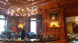 A Dining Room At Bar George Month After The Reopening Of Mount Stephen Club As Le We Ventured Into Beautiful On Quiet
