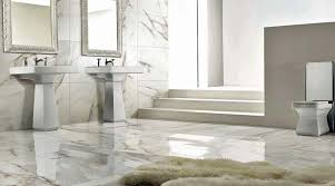 marble tile floor bathroom