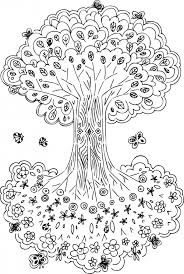 Tree Of Life Printable Coloring Pages