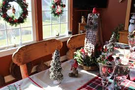 Crab Pot Christmas Trees Obx by Designs By Pinky Dining With The Birds On A Plaid Table