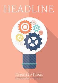 Download Retro Business Creative Ideas Poster Stock Vector