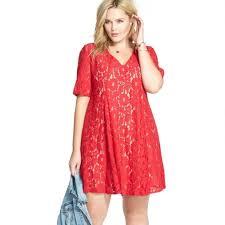 plus size lace dresses 2017 plus size women clothing xl 5xl red