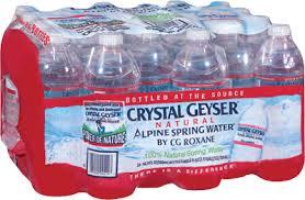 Crystal Geyser Alpine Spring Water 24PK 169 OZ