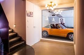 40 abgefahrene garagen wenn der porsche im wohnzimmer parkt