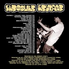 Yet More Great Hardcore From The Late 80s Damn It Seems Never Ending This Is A Collection Of Just About Every Pressure Release Song Recorded Between