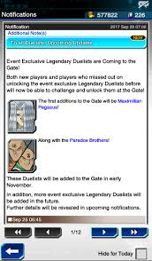 Maximillion Pegasus Deck Duel Links by News Pegasus U0026 Paradox Brothers Coming To The Gate Duellinks