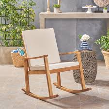 Outdoor Acacia Wood Rocking Chair With Cushion, Teak,Cream - Walmart.com Adams Mfg Corp Stackable Resin Rocking Chair At Lowescom Chairs Naturefun Outdoor Patio Rocker Balcony Glider Garden And Front Porch Tour Our House Now A Home 10 Best 2019 Living Old Stock Image I2788425 Featurepics Antique Wicker Barrel Cracker Porch Nur Deck Splendid Gracie Oaks Rajesh Reviews Wayfair 11 Rockers For Your Black The Depot Off The A Brief History Of One Americas Favorite
