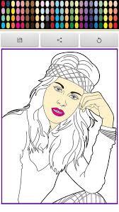 Violeta Leonetta Coloring Screenshot
