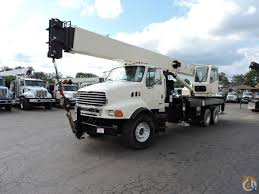 Sold National 14110 33Ton Crane, 2004 Sterling LT 8500 Truck Crane ...
