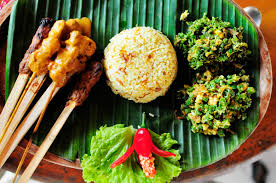 cuisine thailandaise traditionnelle cuisine thaïe repas restaurants et fruits