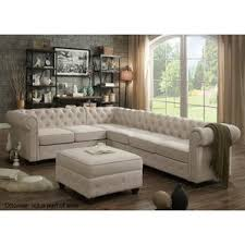 Poundex 3pc Sectional Sofa Set by Sectional Sofas