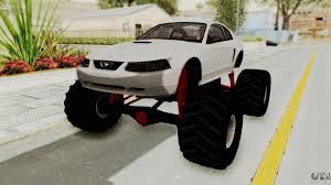 Ford Mustang 1999 Monster Truck For GTA San Andreas Radio Shack Zip Zaps Micor Rc Cars Spiderman Monster Truck Mustang Ford King Cobra 1978 Gta San Andreas Crazy 2 Mustang Monster Truck Wning Mach 1 Mp Races In Bigfoot No1 Original Rtr 110 2wd By Traxxas Shelby Gt500 Monster Truck For Spin Tires Maverick Ion Mt Wild Stang Trucks Wiki Fandom Powered Wikia Shelby Mustang Summit 4wd Blue Tra560764blue Hpi Baja 5r 1970 Boss Asphalt