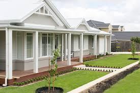 100 Weatherboard House Designs Australian Hamptons Style Facade Facade House