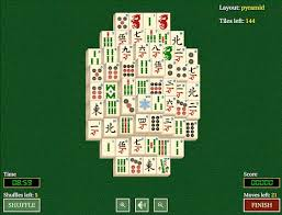mahjong solitaire for html5 on desktop and mobile