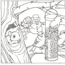 Free Printable Coloring Pages Of Winter Scenes AZ