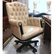 chaise de bureau chesterfield yb69 de luxe antique vintage chesterfield en cuir chaise de bureau