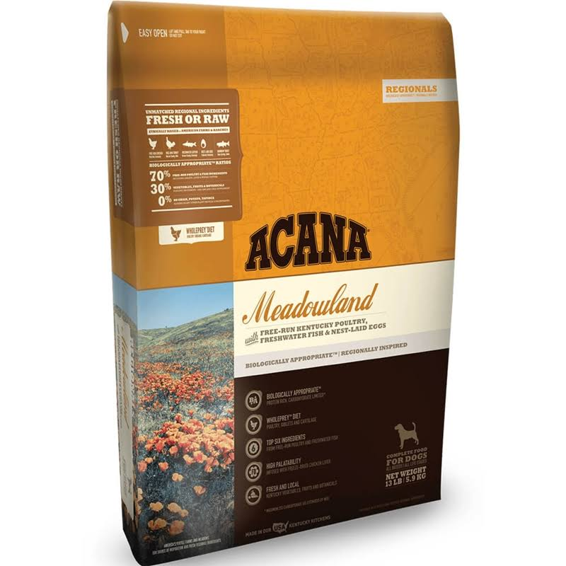 ACANA Regionals Meadowland Dry Dog Food, 4.5 lbs