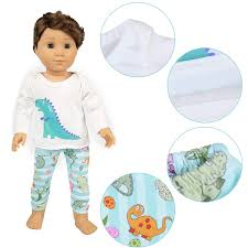 Amazoncom Ecore Fun American 18 Inch Boy Girl Doll Clothes Pajamas