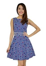 trendy polka dots dress