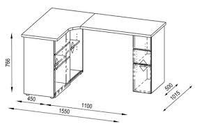 plateau de bureau d angle bureau informatique d angle contemporain avec rangement chêne