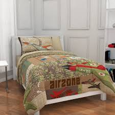 Camo Bedding Walmart by Mainstays Kids Airzone Bed In A Bag Bedding Set Walmart Com